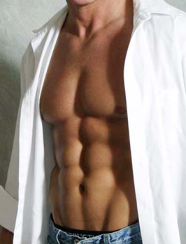 men want six-pack abs