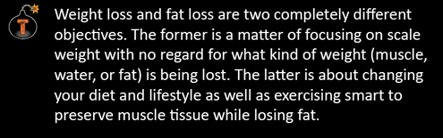 Excerpt from The Dark Side Of Fat Loss.