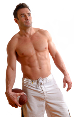 Belly fat in men is embarrassing when you have to take off your shirt.