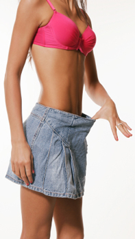 best way to lose muffin top is through making better food choices