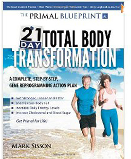beach sprints are part of the primal blueprint 21 day body transformation