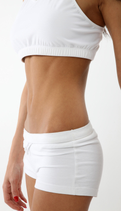 you can have flat and fit female abs with good food choices and consistent exercise