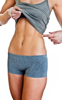 flatten tummy with an all natural eating program