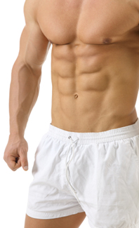 you simply cannot get ripped abs in a week