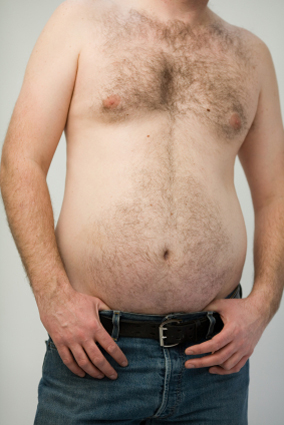 getting a fat belly is a shock but keeping one is misery