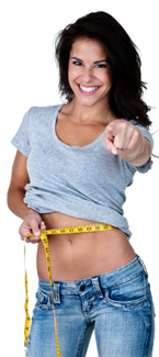get rid of girl belly fat forever