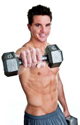you can get a swimmers body with a quality diet and weight training