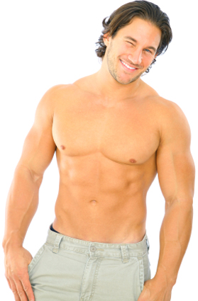 what do women find attractive in a man? lean muscle and no belly fat