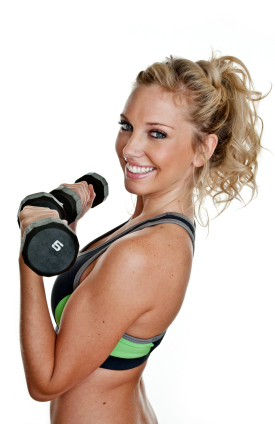 fitness advice for women include lifting weights to increase metabolism