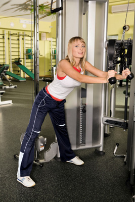 weight training for women elevates your metabolism