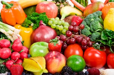good carbs include fruits and vegetables