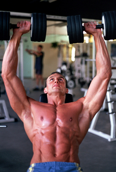 get more lean by training hard