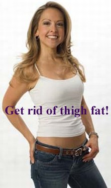 how do i lose thigh fat and keep it off