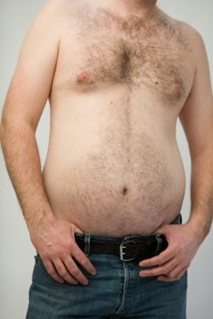 getting rid of love handles and eliminating belly fat will take some effort