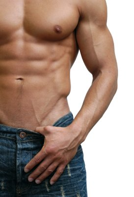 eating to build muscle means burning belly fat