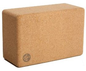 a great cork yoga block is made by manduka and can enhance your home yoga workout