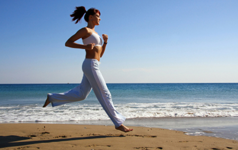 running for fat loss must be done sensibly and with purpose
