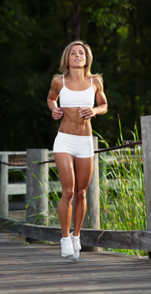 running for fat loss must be done sensibly and consistently