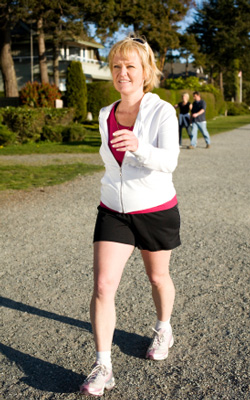 walk off belly fat with a safe and sensible program