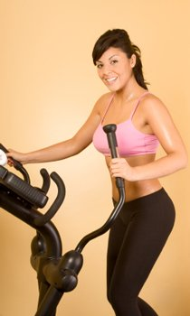 a weight loss workout routine will center on diet, weight training, and structured cardio